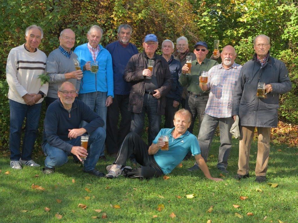 Gruppenbild im Herbst